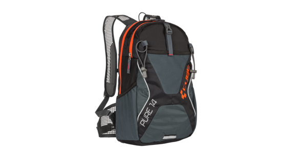 Cube Pure 14 Rucksack black'n'flashred